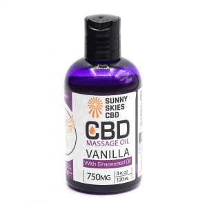 CBD Massage Oil 750mg