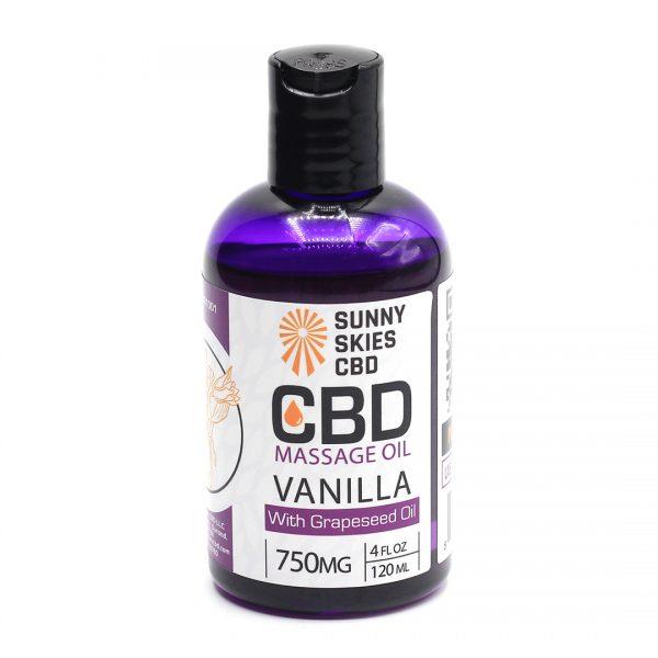 CBD Massage Oil 750mg