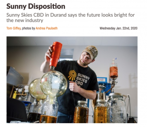 Sunny Disposition Volume One CBD Article