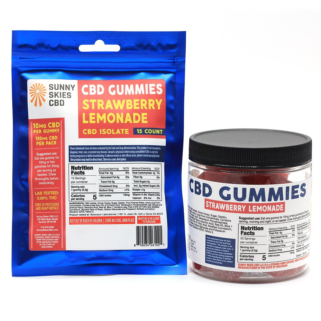 10mg Isolate CBD Gummies