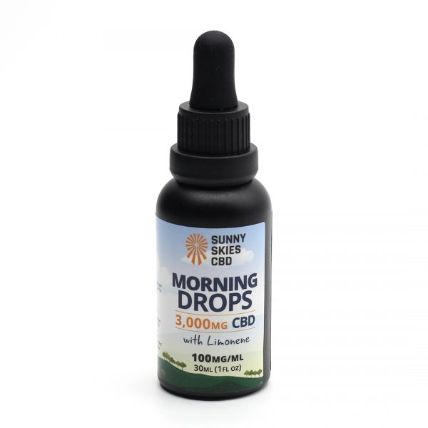 CBD Morning Drops Tincture