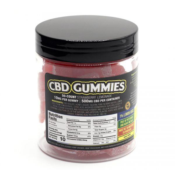 CBD Gummies Bottle
