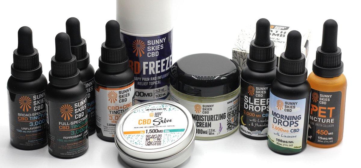 CBD Product Variety