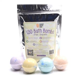 CBD Bath Bomb 4 pack