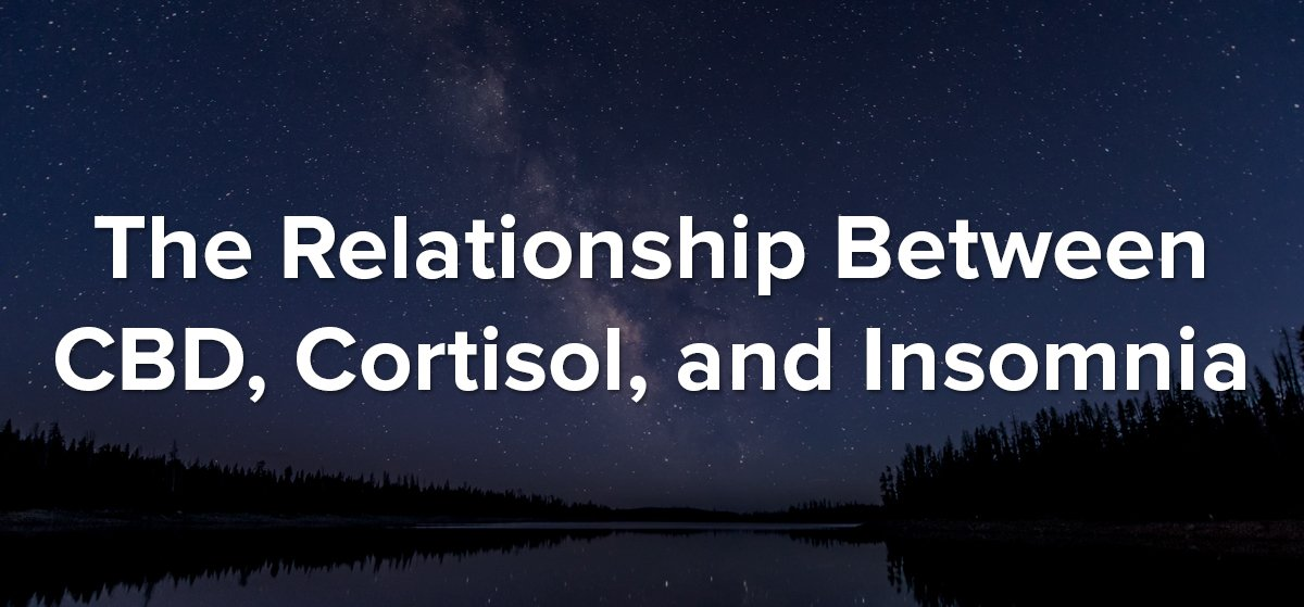 cbd cortisol and insomnia blog